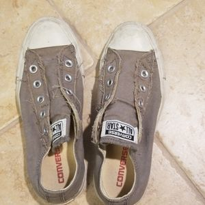 Pull on converse sneakers no lace